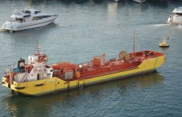 San Giacomo Oil Recovery Ship