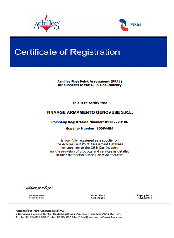 FPAL-Certificato